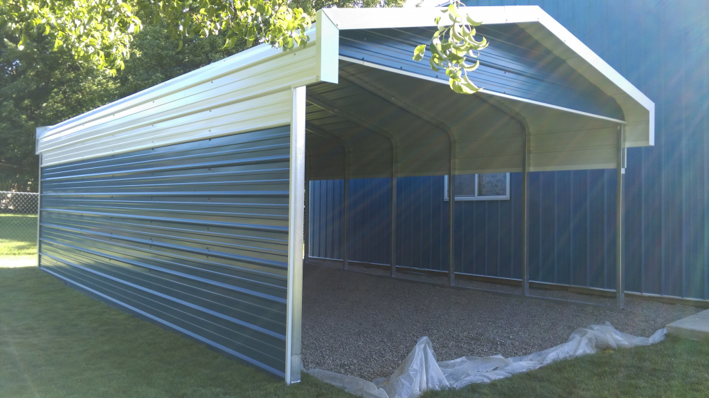 Carports Flat Roof Carport Prices Pre Built Metal Buildings Facade Example of Prefab Metal Carport