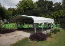 Carports Louisiana  Metal Carports La Louisiana Carports Facade Sample for Metal Carport Louisiana