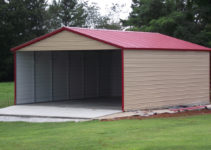 Carports Metal Canopy Shed Carport Attached To House Storage Picture Sample for Attached Metal Carport To House