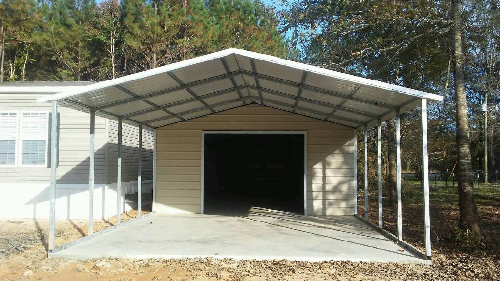Carports Metal Carports Steel Carports Columbia Picture Sample for How To Repair Metal Carport Roof