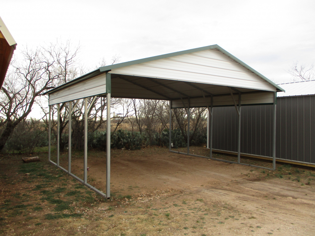 Carports Metal Garages Dfw  Cleburne Waxahachie Hillsboro Picture Example of How To Repair Metal Carport Roof