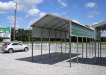 Carports Northport Al  Northport Alabama Metal Carports Facade Example in Metal Carport Alabama
