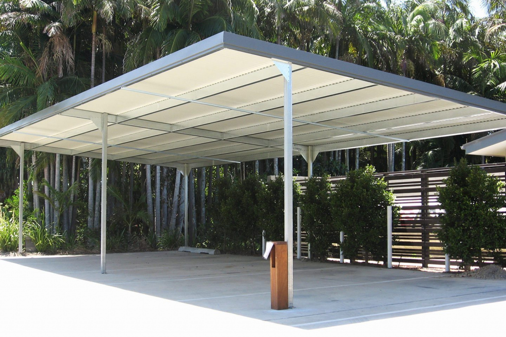 Carports Sheds And Garages For Sale  Ranbuild Photo Example for Cantilever Carport Diy