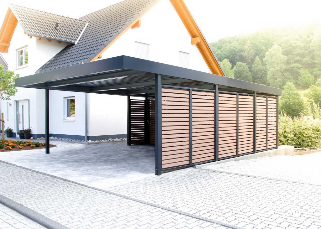 Carports  Siebau Österreich Image Example in Metal Carport Designs