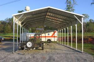 Carports – Sturdi Buildings Facade Sample of 20X40 Metal Carport