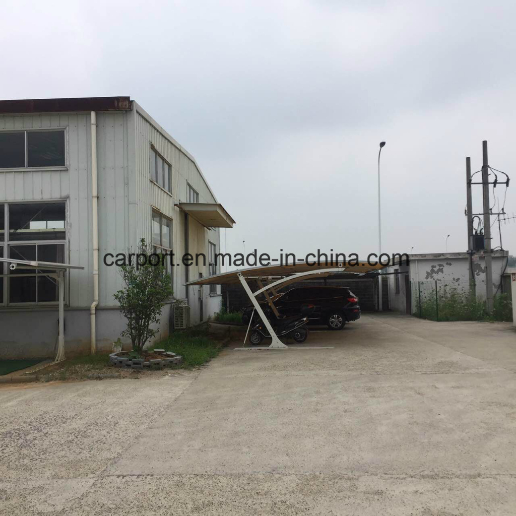 China Custom Size Color Steel Metal Used Carport For Sale Picture Example in Used Metal Carport For Sale