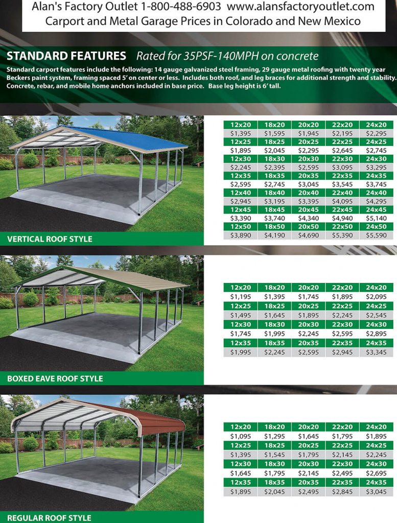 10+ Awesome How Much Is A Metal Carport — caroylina.com