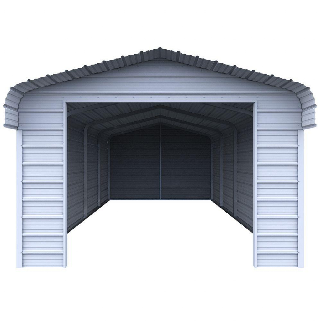 Costco Garage Canopy Barn Pros Post Frame Kit Buildings Image Example for Metal Carport Costco