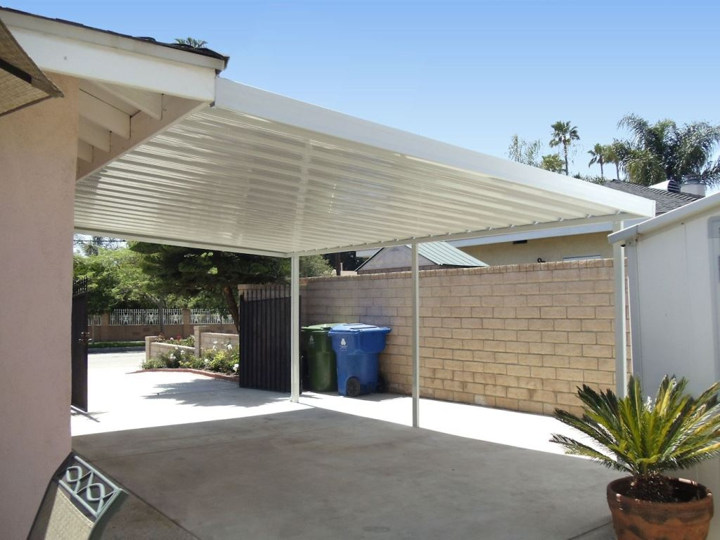 Decorating Steel Frame Carport Canopy For Outdoor Picture Example of Outdoor Carport Ideas