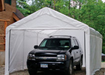 Details About 12X20X8 Outdoor Portable Shelter Garage Carport Sidewalls  Only No Canopy  Frame Picture Sample in Outdoor Carport Canopy