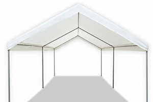 Details About Carport Canopy Garage Tent Cover Steel Frame Portable Parking  Car Shed Shelter Facade Example in 10X20 Canopy Carport