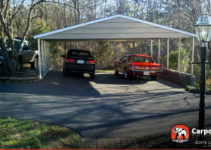 Details About Custom 3 Car Metal Carport 26′ Wide X 24′ Length X 7′ High Image Example of 8 Ft Wide Metal Carport