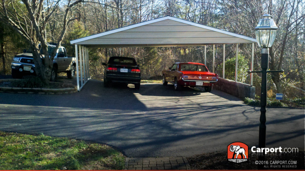 Details About Custom 3 Car Metal Carport 26′ Wide X 24′ Length X 7′ High Photo Sample in 24 By 24 Metal Carport