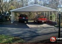 Details About Custom 3 Car Metal Carport 26′ Wide X 24′ Length X 7′ High Photo Sample in Single Wide Metal Carport