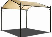 Details Zu 10X10Ft Heavy Duty Carport Canopy Garage Car Shelter Tent Garden  Gazebo Poly Uv Facade Sample for 10X10 Metal Carport