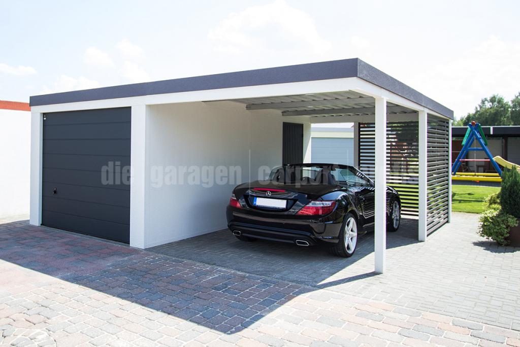 Diegaragencarportprofis  Hochwertige Fertiggaragen Und Photo Example for Carport Garage Metal
