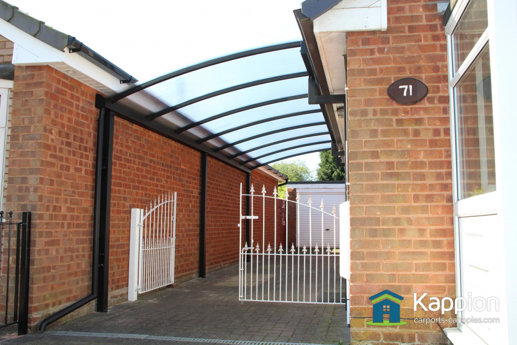 Driveway And Bungalow Carports  Kappion Carports  Canopies Photo Example for Driveway Carport Canopy