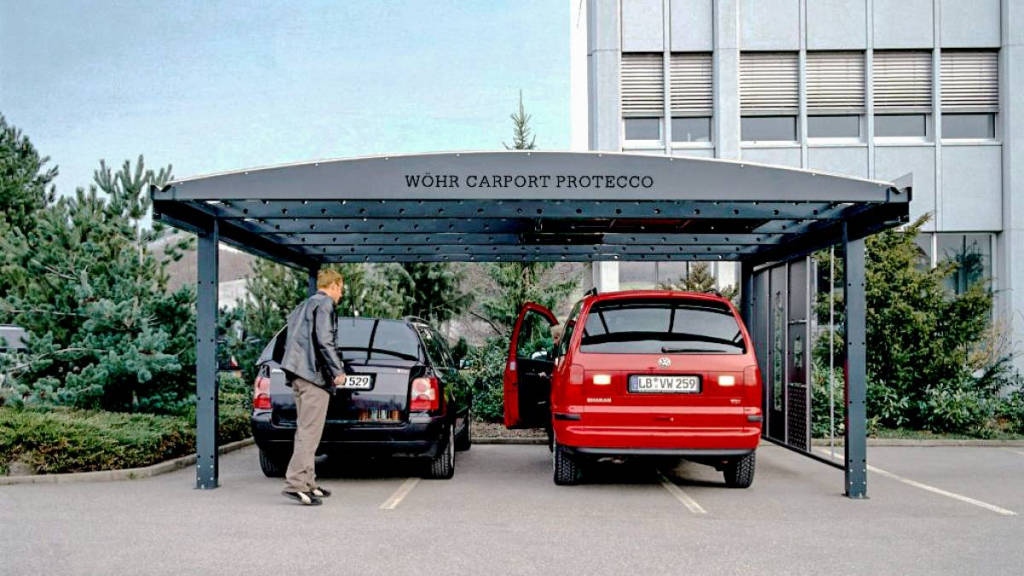 Duo  Wöhr Autoparksysteme Gmbh Image Sample for How To Lift A Metal Carport