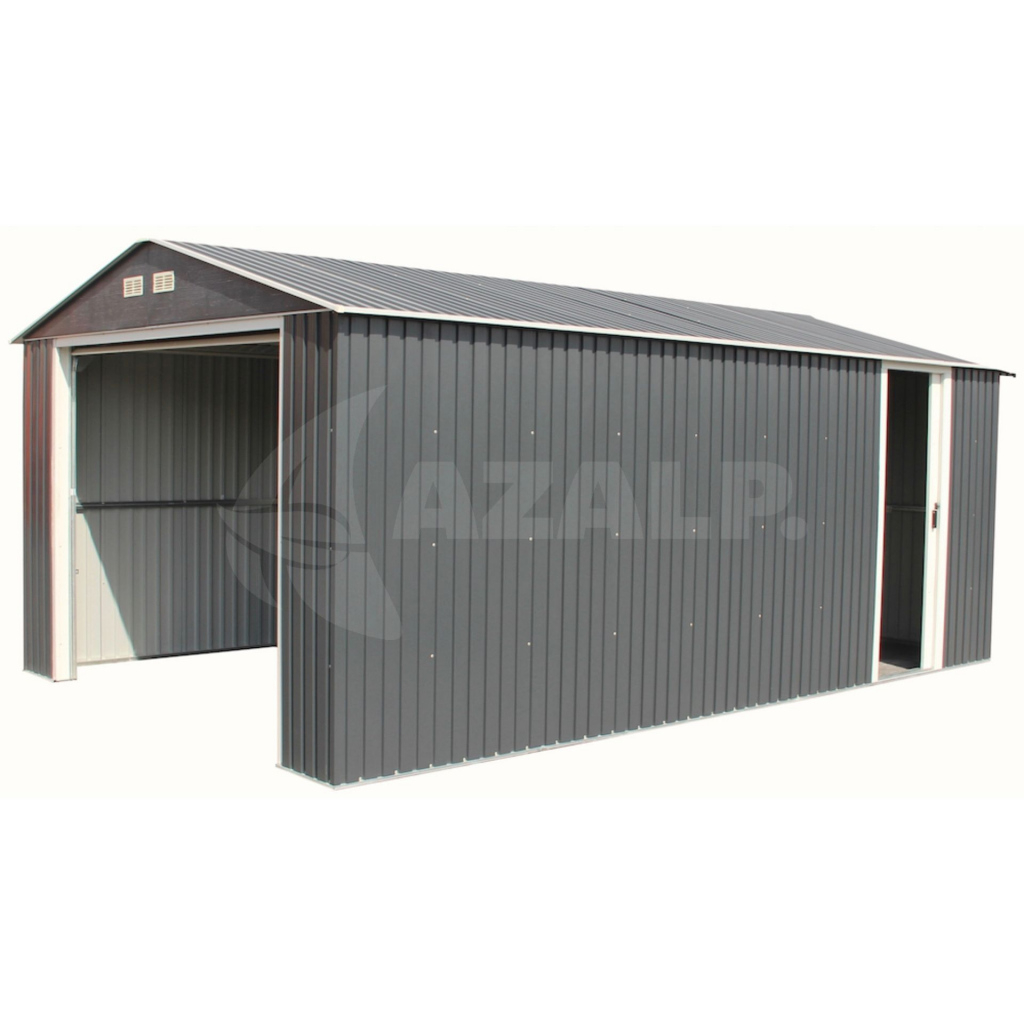 Duramax Garage 12X20 B Anthrazit Photo Example in Metal Carport 12X20