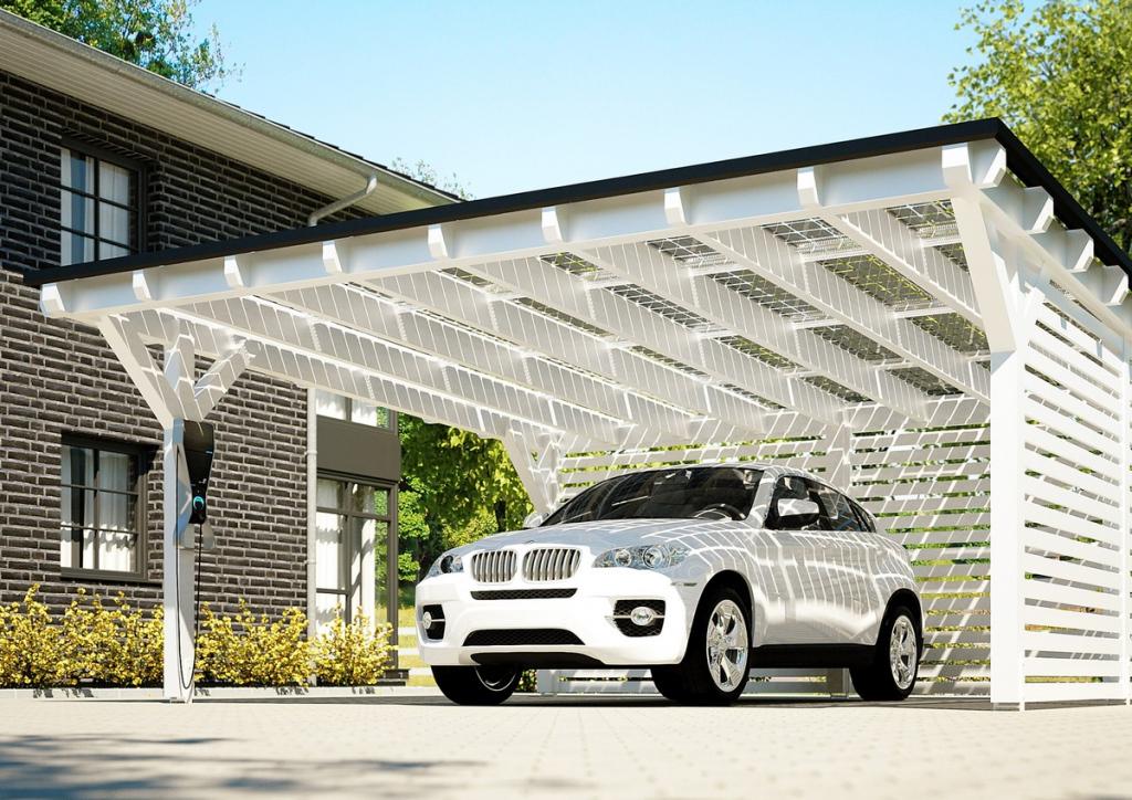 ▷ Solarstrom Selber Nutzen Lohnt Sich Wieder  Presseportal Image Example for Solar Carport Design