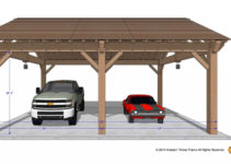 Easily Build Your Own Carport Rv Cover  Western Timber Frame Picture Example in 2 Car Wood Carport Kit