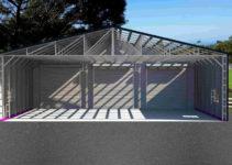 Enchanting Metal Carport Tubing Square Home Improvement Picture Sample in Metal Carport Frame Components