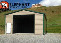 Enclosed Carport An Easy Solution  Carport Blogcarport Image Example of Diy Enclosed Carport