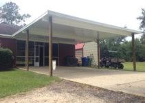 Enclosed Carport Garage Door Enclosing Lattice  House Plans Image Example for Enclosed Carport With Garage Door