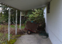 Enclosing A Carport How Would You Do It  The Garage Image Sample in Enclosing An Attached Carport