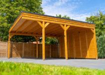 Flachdachcarport Aus Holz Online Konfigurieren Und Bestellen Facade Sample of 12X20 Wood Carport