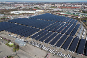 France Opens Biggest Solar Carport – Pv Magazine International Picture Sample for Commercial Solar Carport Cost Per Watt