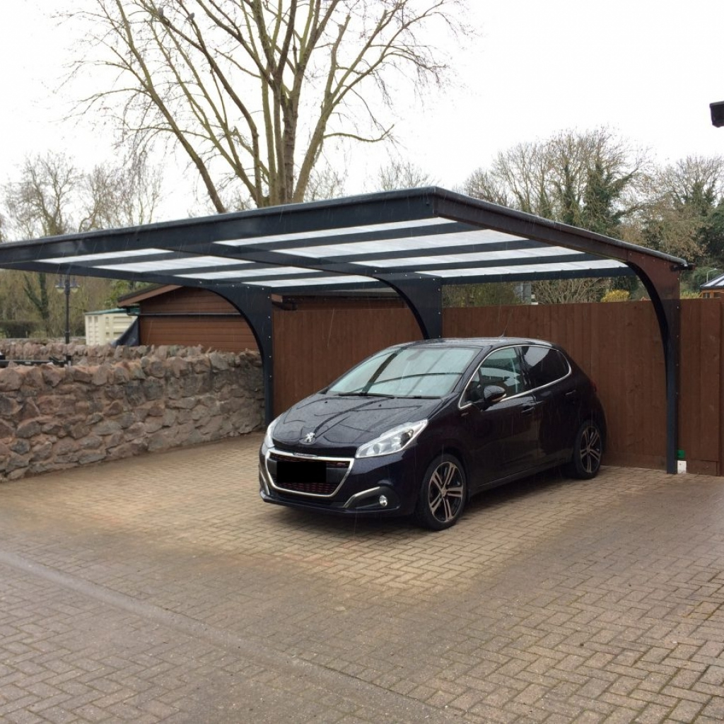 Freestanding Cantilever Carports  Proport Canopies Image Example of Cantilever Carport Canopy