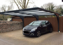 Freestanding Cantilever Carports  Proport Canopies Image Sample for Free Standing Cantilever Carport