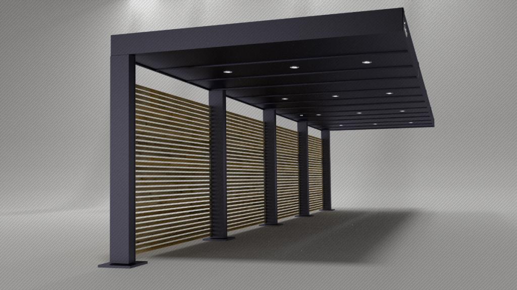 Freitragendes Metall Carport  Bestbauhaus Picture Example of Metal Carport Designs