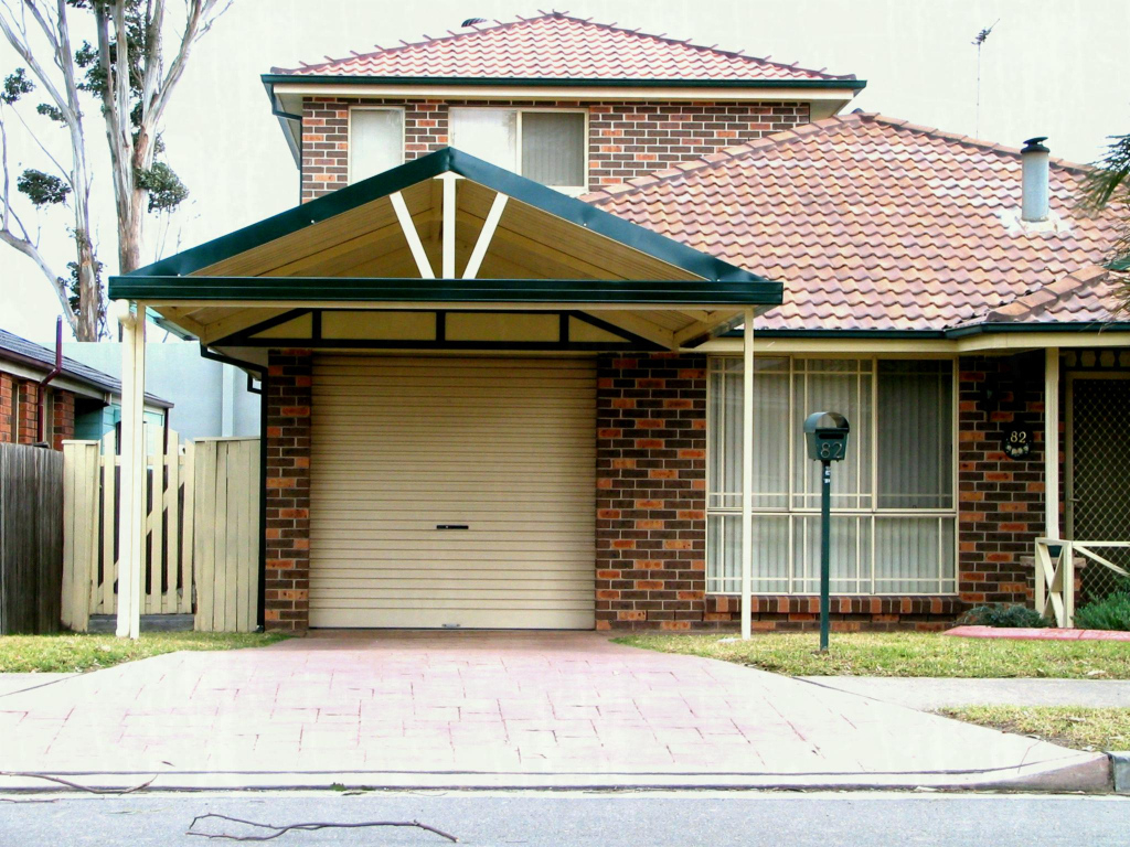 Gable Patio Covered Detached Full Size Of Carports House Facade Example in House Plans With Carport In Back