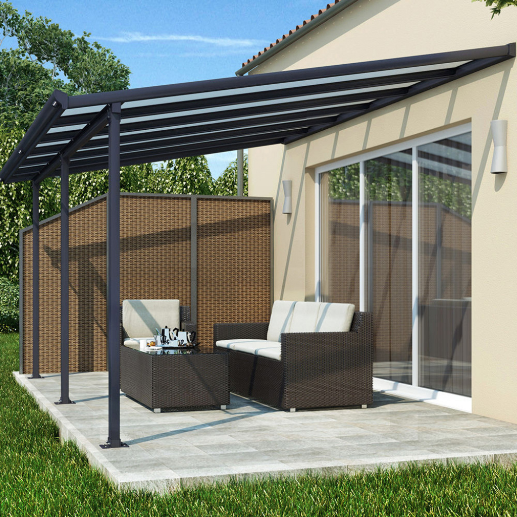 Garage Shelter Doppel Cantilever Aluminium Carport Terrasse Dach Picture Example for Cantilever Carport Diy