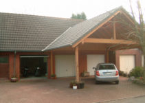 Garage – Wikipedia Picture Example of Modern Carport In Front Of Garage