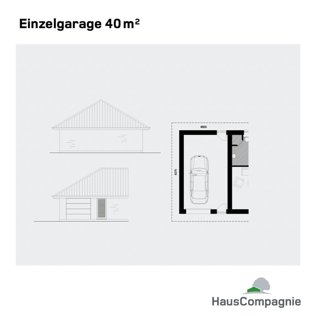 Garagen Und Carports  Hauscompagnie Facade Sample of Garage And Carport Plans