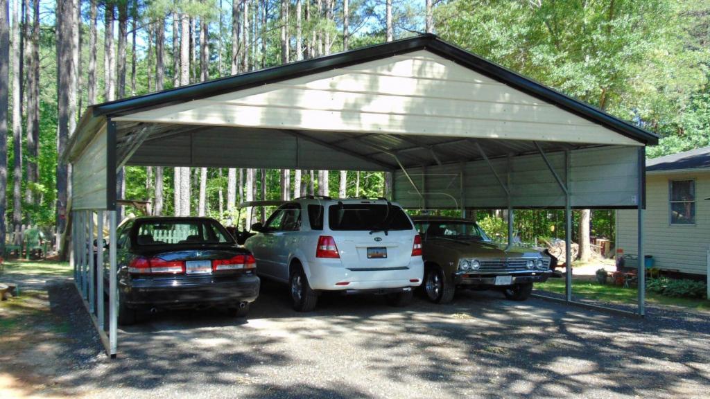 Gracelandportablebuildings Picture Sample for Metal Carport Trim