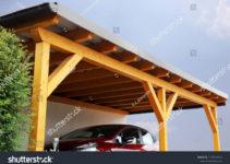 Highquality Wooden Carport Stockfoto Jetzt Bearbeiten Photo Example for Wooden Garage Carport