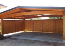Holzcarport  Arco  Proverbio Outdoor Design Photo Example in Wood Carport Design