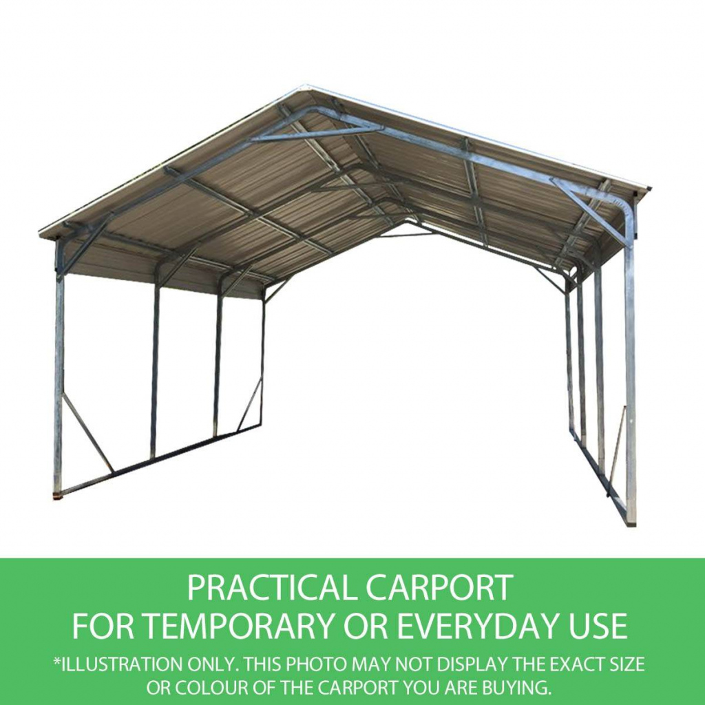 Home Improvement Portable Carport Frame Parts Cover Kit Kits Photo Example for Metal Carport Frame Parts