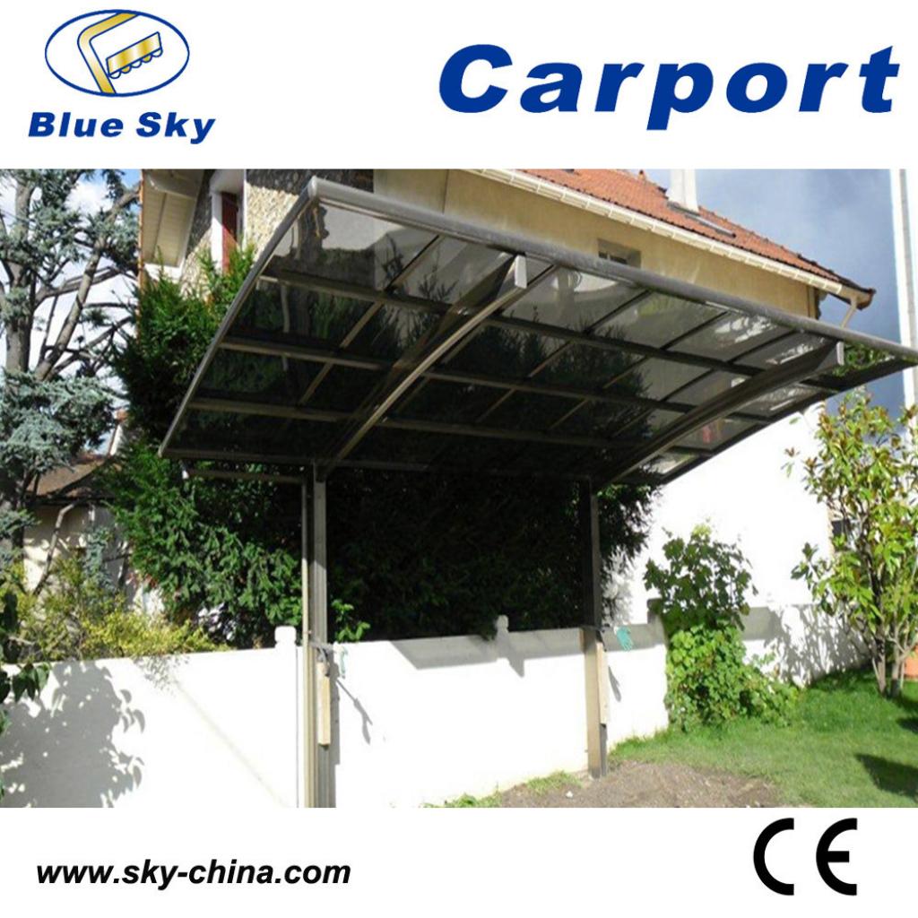 Hot Item High Snow Load Aluminum Carport With Fiberglass Roof B800 Facade Sample of Metal Carport Snow Load