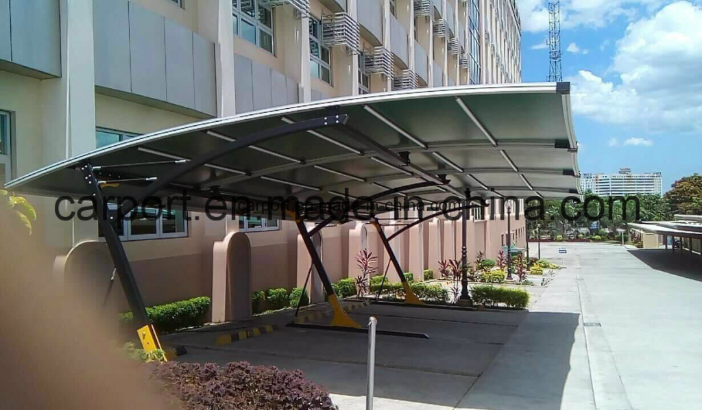 Hot Item New Style Car Shade Canopy Metal Awnings First Up For Wholesale Facade Example for Wholesale Metal Carport Kits