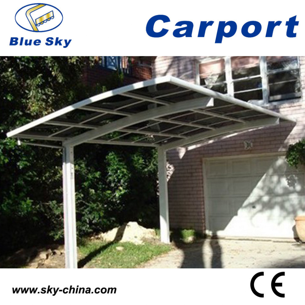 Hot Item Strong And Durable Aluminium Frame High Snow Load Carport Picture Sample of Metal Carport Snow Load