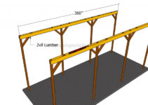 How To Build A Wooden Carport  Howtospecialist  How To Photo Example of How To Build A Wood Carport