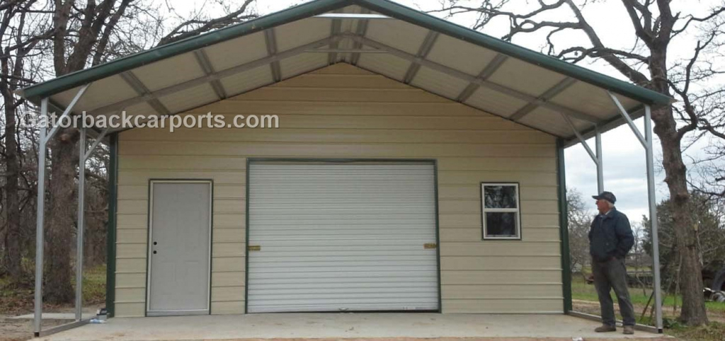 How To Choose A Neutral Carport Color That Blends With Your Photo Sample for Metal Carport Trim