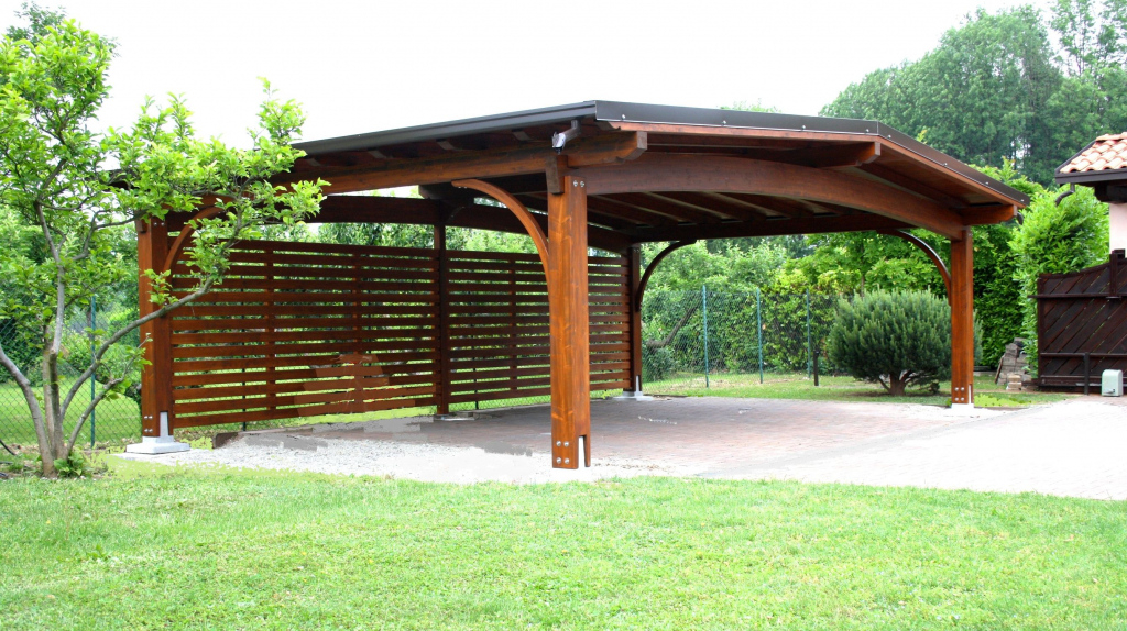 How To Design Carport Designs – Icmt Set Picture Example of Modern Flat Roof Carport