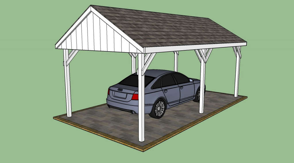 How To Design Carport Designs — Pixy Home Decor Facade Example of Plans For Steel Carport
