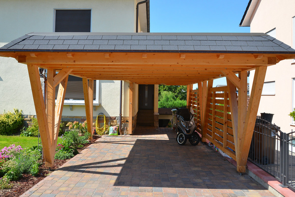 In  Out All Access Systems  Carport Facade Example for Metal Carport Installers